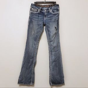 Rock Revival Stacey Boot Cut Jeans Size 30